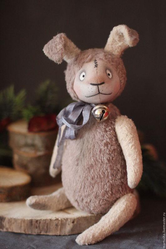 Мишки Тедди ручной работы. Ярмарка Мастеров - ручная работа. Купить Под елочкой скакал.... Handmade. Комбинированный, кролик