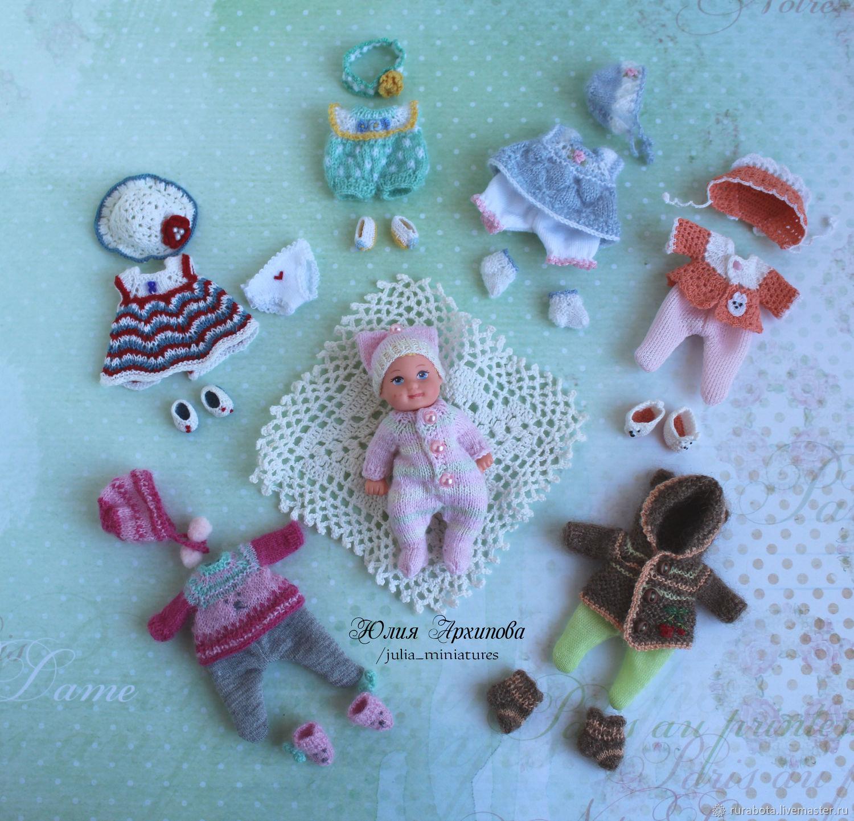 Одежда для пупсов 5-7 см, Одежда для кукол, Саратов,  Фото №1