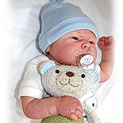 Куклы и игрушки ручной работы. Ярмарка Мастеров - ручная работа Медвежонок-гремелка. Игрушка для малыша. Handmade.