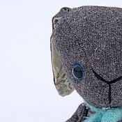 Куклы и игрушки ручной работы. Ярмарка Мастеров - ручная работа Твидовый заяц. Handmade.