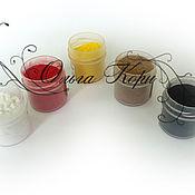 Материалы для творчества ручной работы. Ярмарка Мастеров - ручная работа Ворсовый порошок - пыльца для флористики. Handmade.