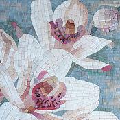 Картины и панно handmade. Livemaster - original item Orchids. Panels of the mosaic. Handmade.