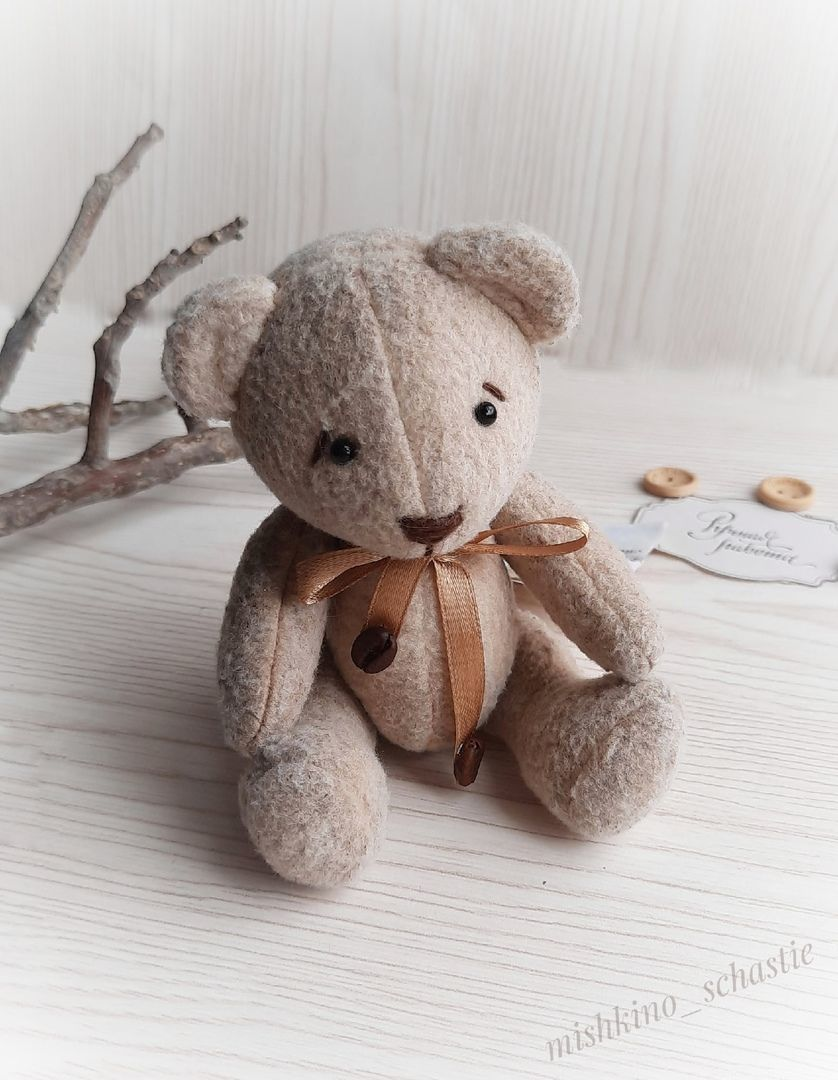 Coffee Bear (with delivery), Stuffed Toys, Taganrog,  Фото №1