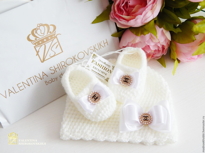 7b2ca088f97d For Newborns handmade. Livemaster - handmade. Buy   Chanel   set for  newborn girl ...