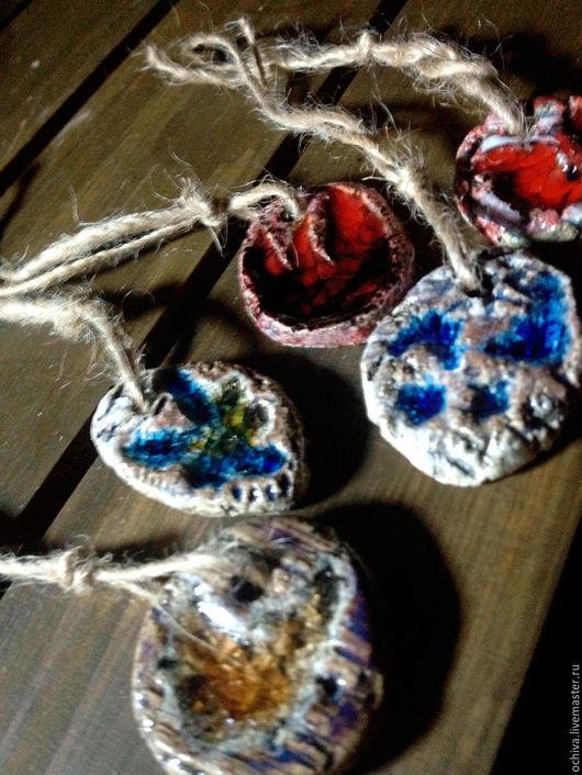 Брелоки ручной работы. Ярмарка Мастеров - ручная работа. Купить Подвеска из керамики. Handmade. Комбинированный, кулон, подвеска, украшение из керамики