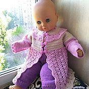Работы для детей, handmade. Livemaster - original item knitted cardigan for baby