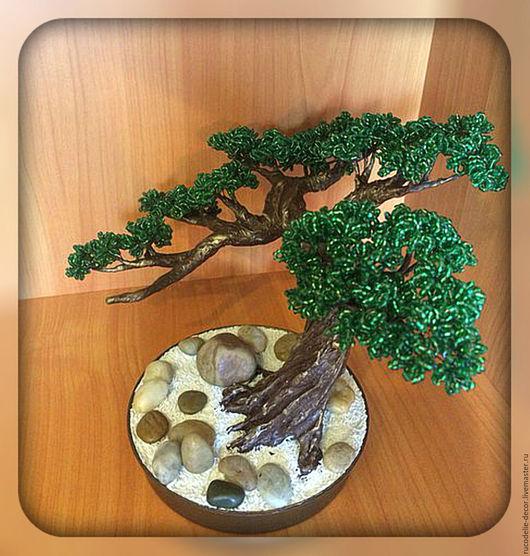 Дерево из бисера ( Бонсай )   Выполняется в любом цвете! Размер корректируется!