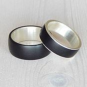 Украшения handmade. Livemaster - original item Silver rings with jet ( On order ). Handmade.