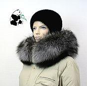 Аксессуары handmade. Livemaster - original item Luxury furry. The finish on the hood Fox fur. Handmade.