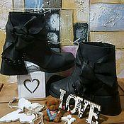 Туфли ручной работы. Ярмарка Мастеров - ручная работа Женская обувь(082). Handmade.