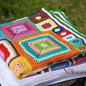"""Для дома и интерьера ручной работы. Ярмарка Мастеров - ручная работа Плед """"Babette Blanket"""" хб. Handmade."""