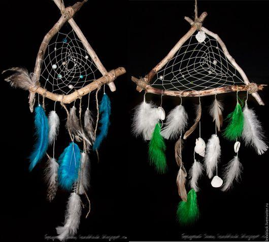 Ловцы снов ручной работы. Ярмарка Мастеров - ручная работа. Купить Птичий Берег или Ковыль. Ловец снов на выбор. Handmade.
