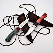 Сувениры и подарки handmade. Livemaster - original item Knife Amulet mushroom picker. Handmade.