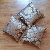 Для дома и интерьера ручной работы. Ярмарка Мастеров - ручная работа Подушки из тафты. Handmade.