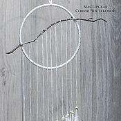 """Фен-шуй и эзотерика ручной работы. Ярмарка Мастеров - ручная работа Талисман удачи """"Ловец снов Тишина"""". Handmade."""