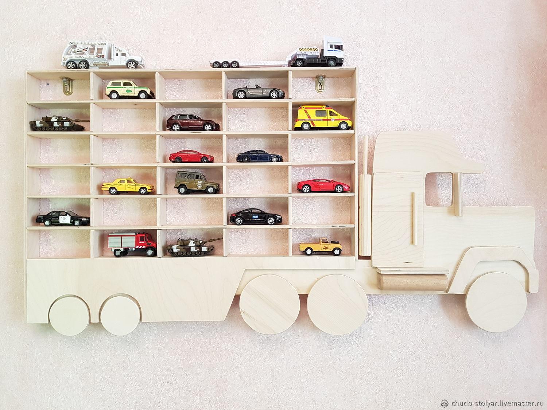 Полка-грузовик без покраски с увеличенными 30 ячейками, Полки, Москва,  Фото №1