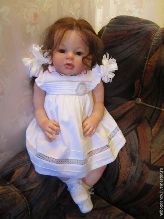 Куклы-младенцы и reborn ручной работы. Ярмарка Мастеров - ручная работа. Купить Кукла реборн Альбина. Handmade. Куклы реборн