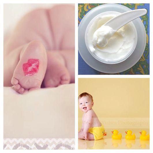 Крем, гель, сыворотка ручной работы. Ярмарка Мастеров - ручная работа. Купить Детский крем под подгузники. Handmade.