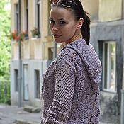 Одежда handmade. Livemaster - original item Crochet tunic and jacket. Handmade.
