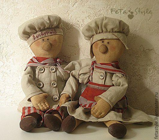 """Ароматизированные куклы ручной работы. Ярмарка Мастеров - ручная работа. Купить Куклы текстильные Поварята """"Bon Appetit"""". Handmade. Кукла"""