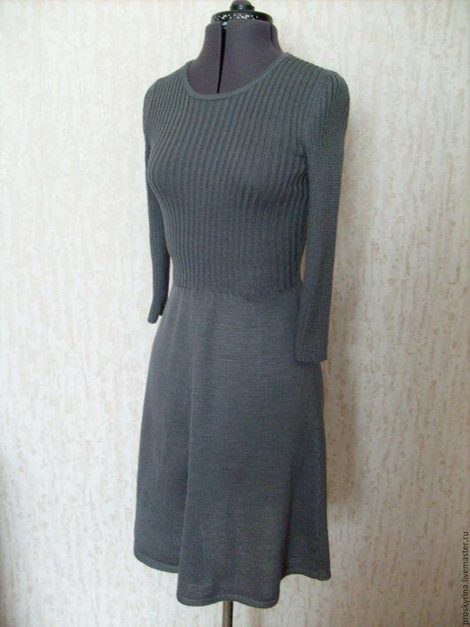 Платья ручной работы. Ярмарка Мастеров - ручная работа. Купить платье. Handmade. Серый, платье