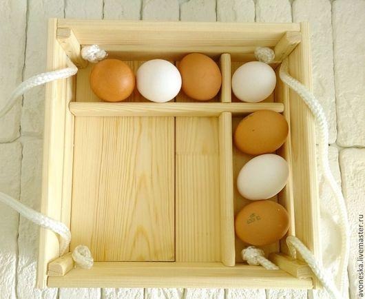 Подарки на Пасху ручной работы. Ярмарка Мастеров - ручная работа. Купить Пасхальный короб, ящик для яиц и кулича. Заготовка. Handmade.