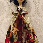 Портретная кукла ручной работы. Ярмарка Мастеров - ручная работа Интерьерная кукла Николь. Handmade.