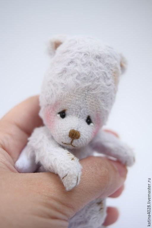 Мишки Тедди ручной работы. Ярмарка Мастеров - ручная работа. Купить Ручной Ангел. Handmade. Бледно-сиреневый, Ангел хранитель