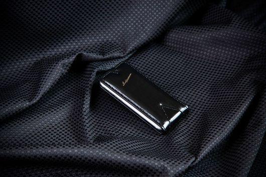 Для телефонов ручной работы. Ярмарка Мастеров - ручная работа. Купить Чехол для iPhone 4/4s  The Black Edition № 76. Handmade.