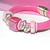 Украшения handmade. Livemaster - original item Bracelet Regaliz Pink. Handmade.