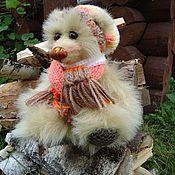 Куклы и игрушки ручной работы. Ярмарка Мастеров - ручная работа Сентябринка, мишка. Handmade.