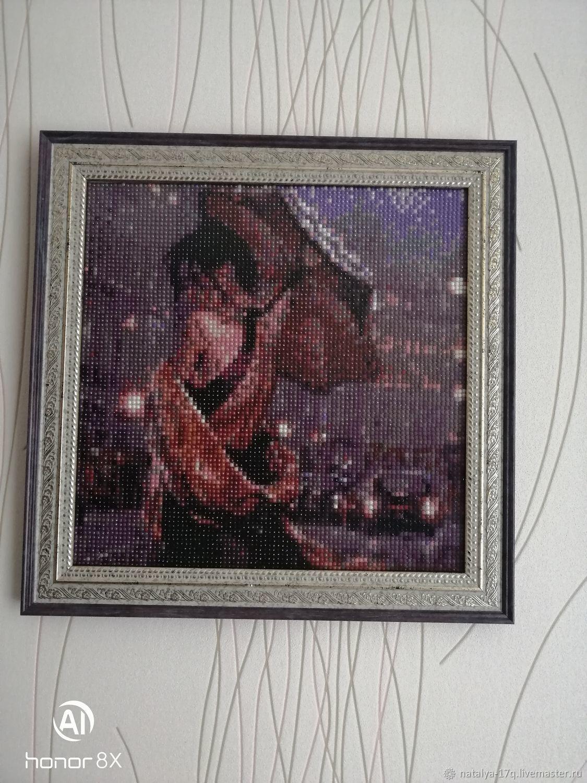 Дама в городе под зонтом, Картины, Лениградская,  Фото №1