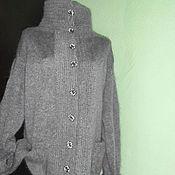 Одежда ручной работы. Ярмарка Мастеров - ручная работа кардиган вязаный из козьего пуха. Handmade.