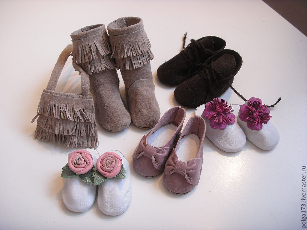 Обувь для куклы своими руками мастер класс