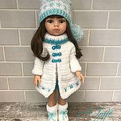 Одежда для кукол ручной работы. Ярмарка Мастеров - ручная работа Одежда для кукол: Зимний комплект. Handmade.
