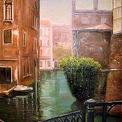 """Картины и панно ручной работы. Ярмарка Мастеров - ручная работа """"Утро. Венеция"""". Handmade."""