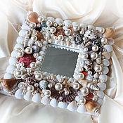 Mirror handmade. Livemaster - original item Mirror small in the frame