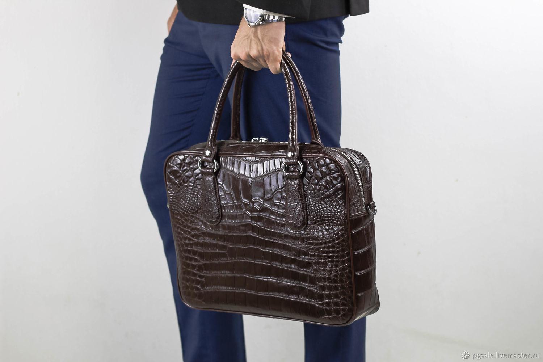 dd27d78758b1 Портфель из кожи крокодила мужской – купить в интернет-магазине на ...