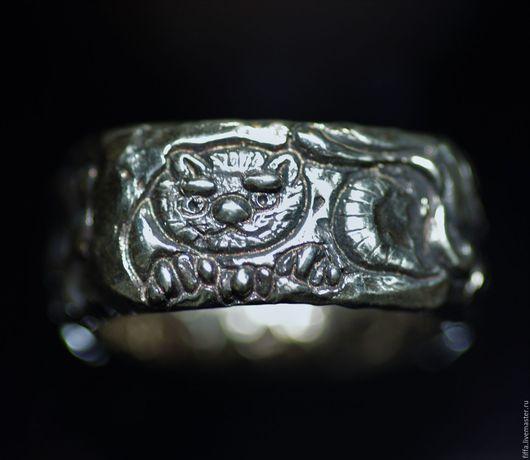 """Кольца ручной работы. Ярмарка Мастеров - ручная работа. Купить Тотемное кольцо """"Кот Василий"""".. Handmade. Тотем, волк, серебро"""