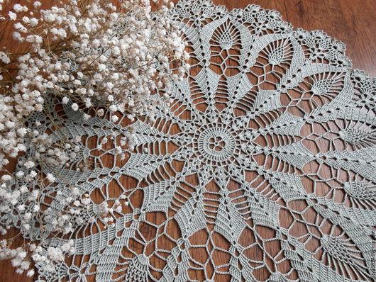 """Текстиль, ковры ручной работы. Ярмарка Мастеров - ручная работа. Купить """"Полынь..."""" салфеточка. Handmade. Полынь, для дома и дачи"""