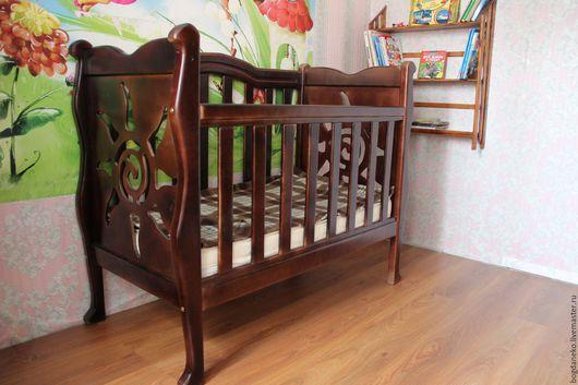 Детская кроватка. Надежная, крепкая, красивая подарит свой уют многим поколениям