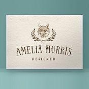 Дизайн и реклама ручной работы. Ярмарка Мастеров - ручная работа Готовый логотип, изображение отрисовано вручную, фирменный стиль. Handmade.