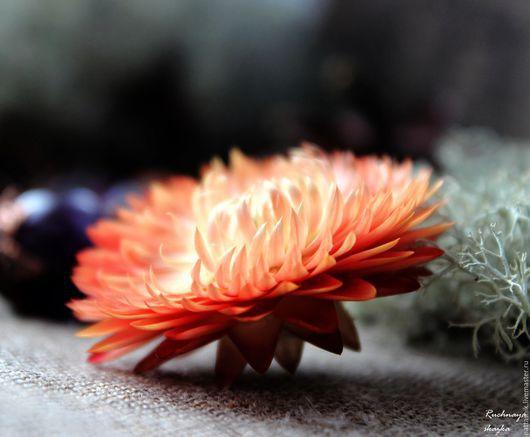 Браслеты ручной работы. Ярмарка Мастеров - ручная работа. Купить Дыхание осени - браслет. Handmade. Оранжевый, осень, лесной, зеленый