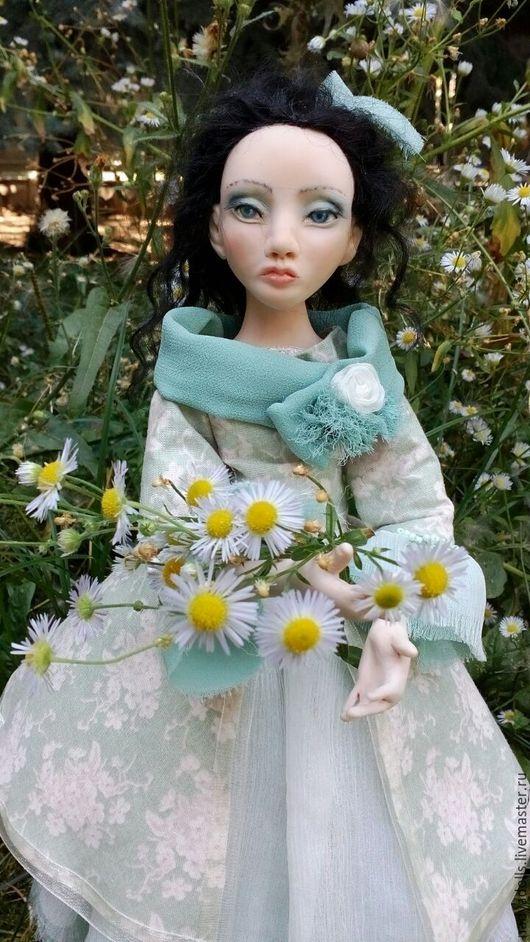 Коллекционные куклы ручной работы. Ярмарка Мастеров - ручная работа. Купить Мажена. Коллекционная интерьерная кукла из полимерной глины. Handmade.