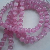 Материалы для творчества handmade. Livemaster - original item Beads cat eyes 8mm. Handmade.