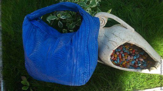 Женские сумки ручной работы. Ярмарка Мастеров - ручная работа. Купить Сумка из натуральной кожи питона. Handmade. Сумка