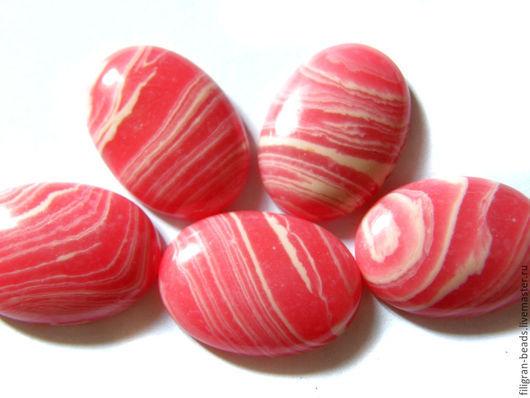 Для украшений ручной работы. Ярмарка Мастеров - ручная работа. Купить Агат розовый 25х18 мм (98060), в ассортименте. Handmade.