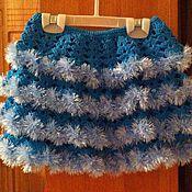 Работы для детей, ручной работы. Ярмарка Мастеров - ручная работа Нарядная юбка для девочки. Handmade.