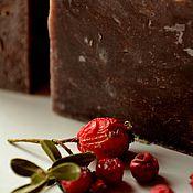Косметика ручной работы. Ярмарка Мастеров - ручная работа Dark chocolate, натуральное мыло. Handmade.