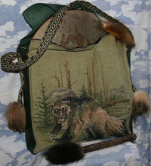 Рисунок шаманского бубна